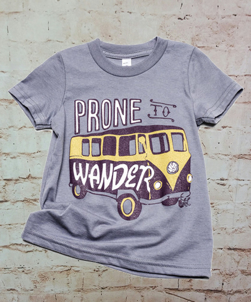 Prone to Wander VW Bus Tee (Toddler)