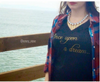 Once Upon a Dream V-Neck Tee (Ladies)