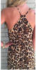 Leopard Maxi Dress (Ladies)