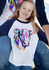 Young Gun Bull Baseball Tee (Kids)
