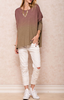 Ombre Tunic Top - Mauve