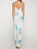 Watercolor Floral Maxi