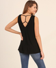 Criss Cross Tank - Black