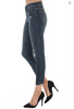 Relaxed Crop Destroyed Jeans by Judy Blue - PLUS ONLY