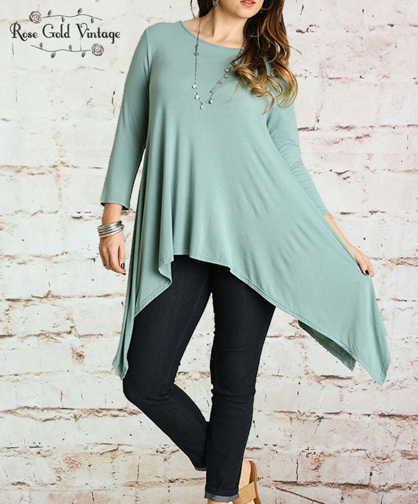 Sharkbite Tunic - Mint