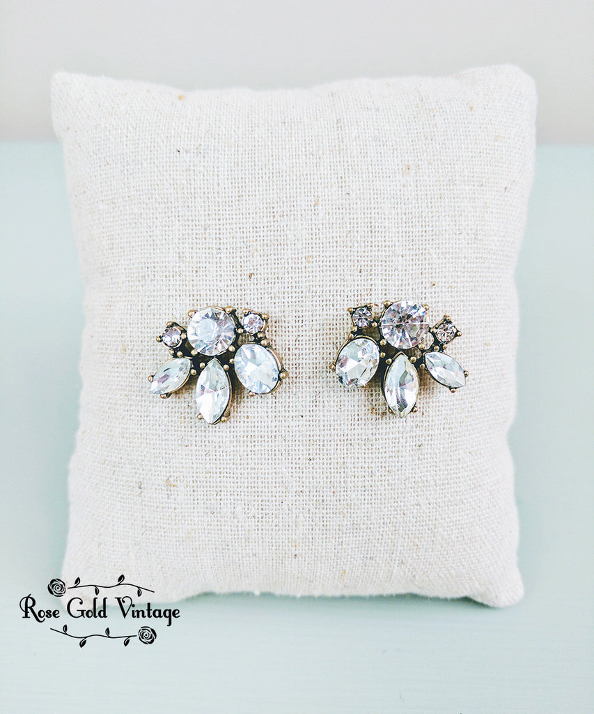 Vintage Bling Statement Earring