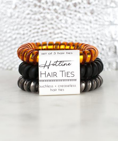 Hotline Hair Ties Set - Bonfire