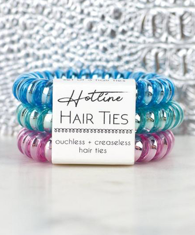 Hotline Hair Ties Set - Pastel Daydream