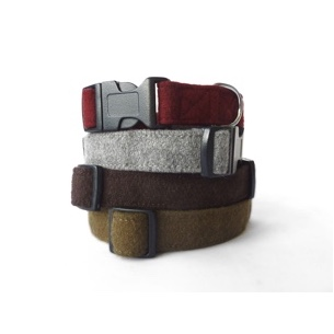 Luxury Woollen Dog Collars