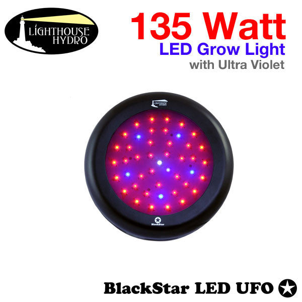 Picture of LED Grow Light - 135 Watt - Ultra Violet (UV) - Full Cycle (Vegetative and Flowering) - 1