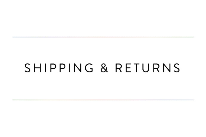 Shipping & Returns | G Polish
