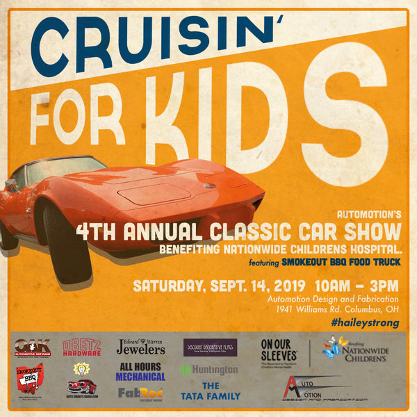 Crusin' For Kids: 4th annual classic car show