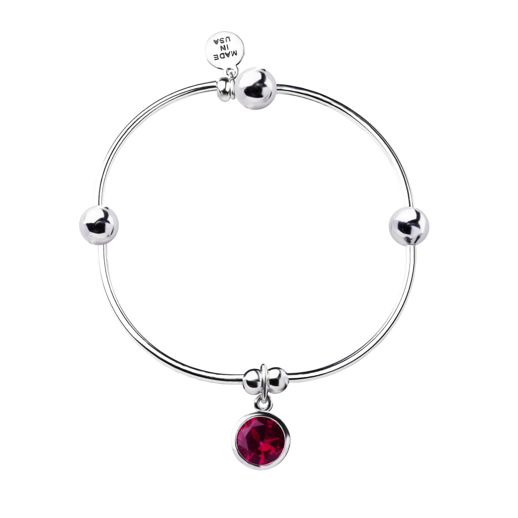 Birthstone | Bracelet | July - Ruby