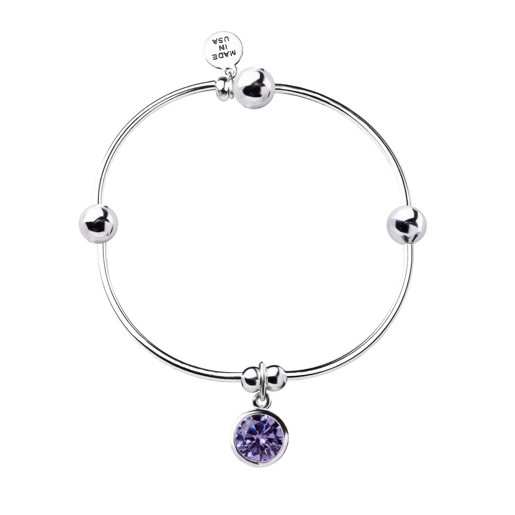 Birthstone | Bracelet | June - Light Amethyst