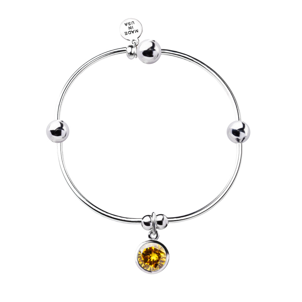 Birthstone | Bracelet | November - Citrine