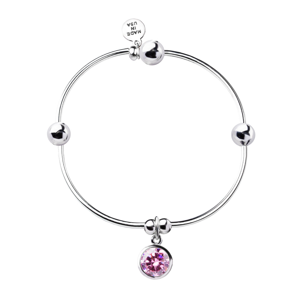 Birthstone | Bracelet | October - Rose