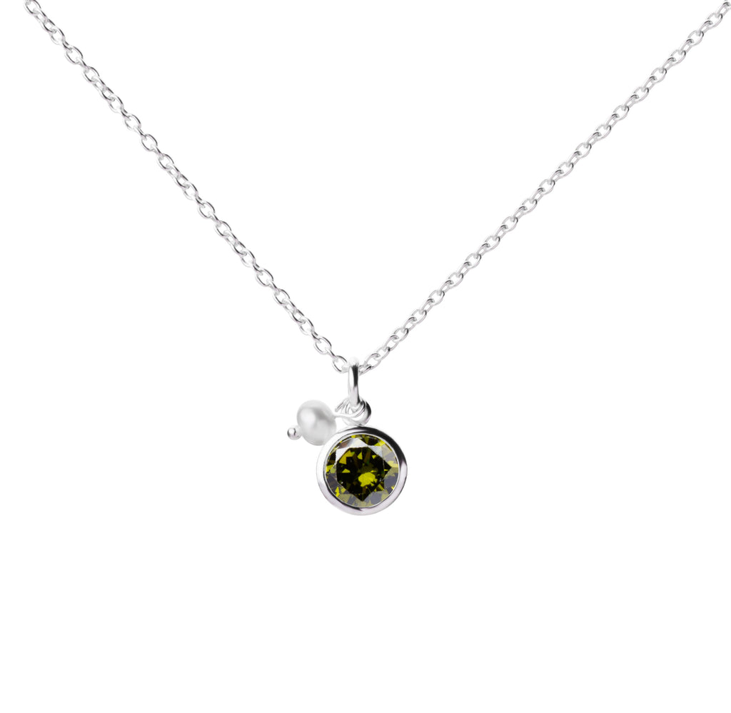 Birthstone | Necklace | August - Olivine [Root stone of Peridot]