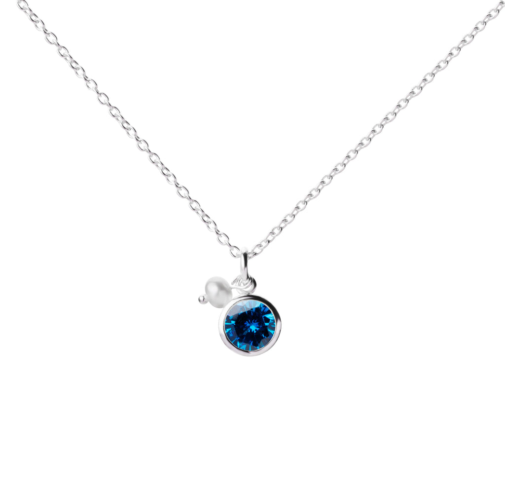 Birthstone | Necklace | December - Blue Topaz