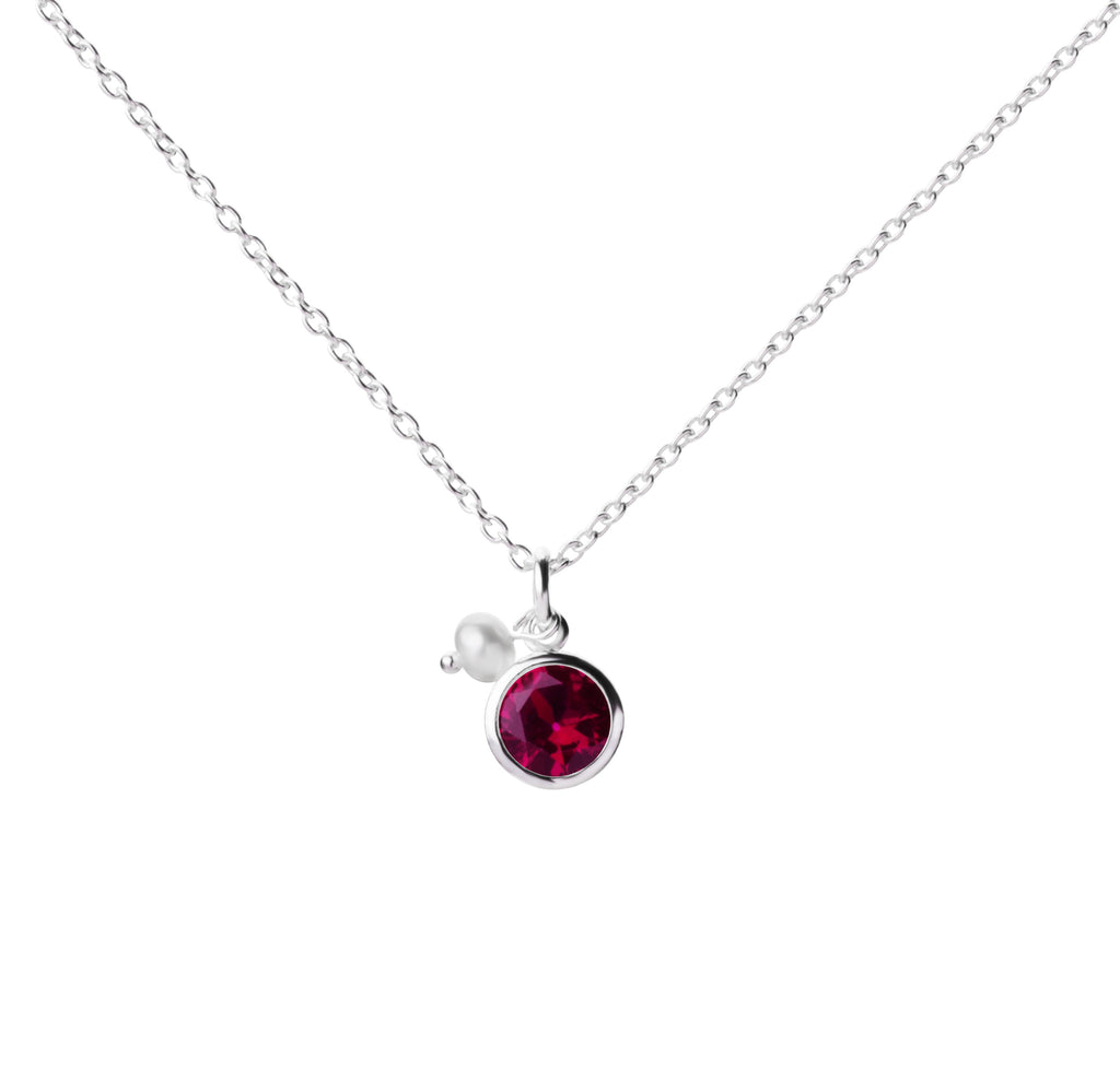 Birthstone | Necklace | July - Ruby