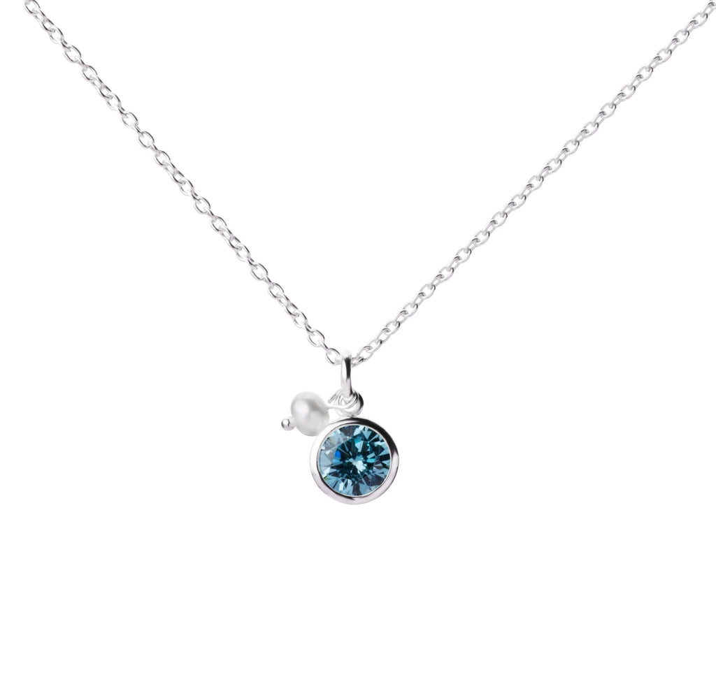 Birthstone | Necklace | March - Aquamarine