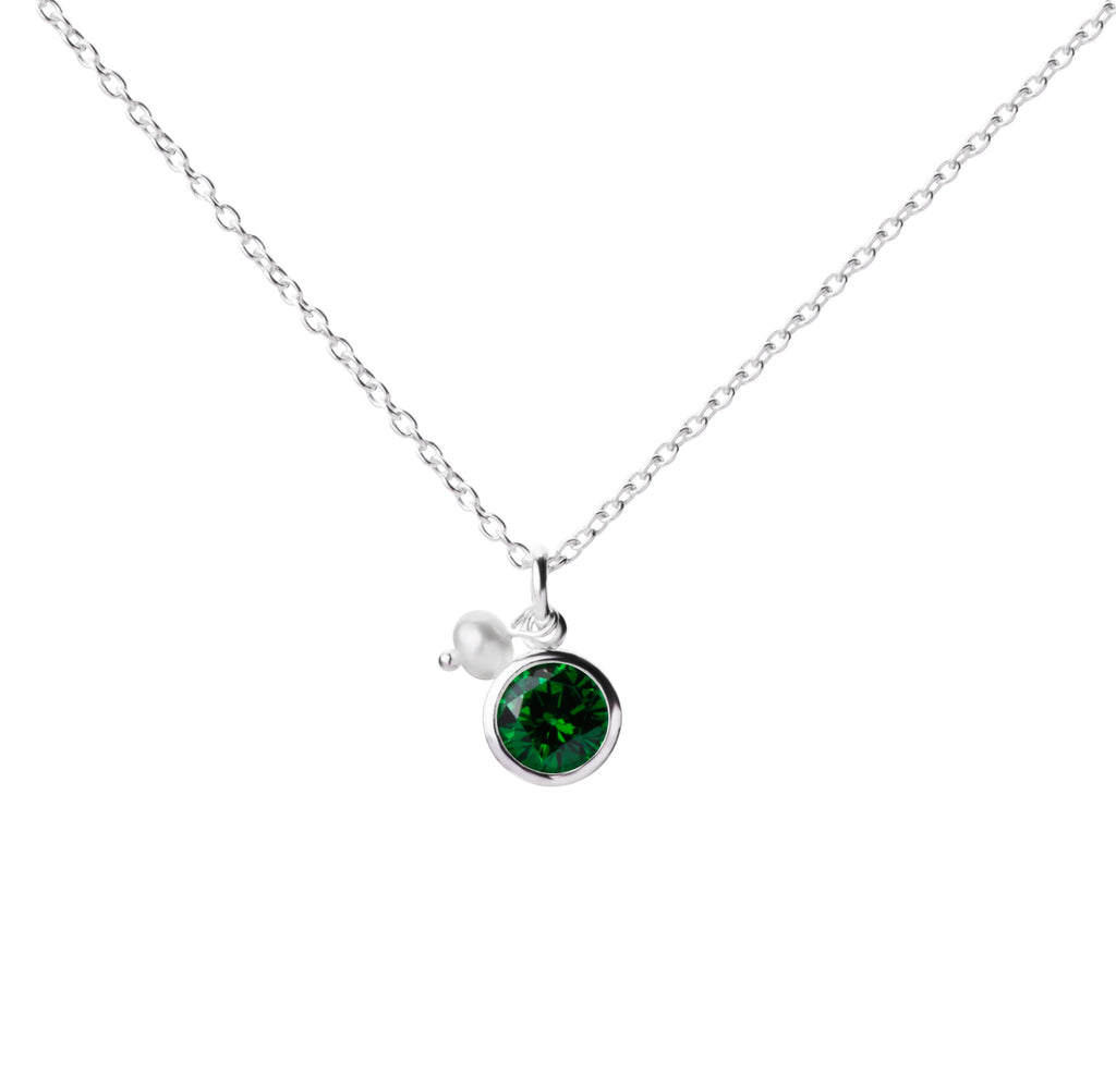 Birthstone | Necklace | May - Emerald