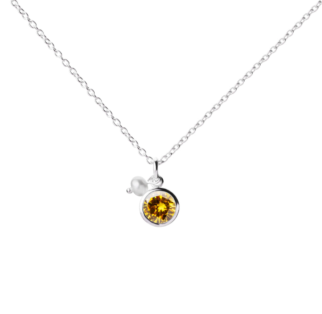 Birthstone | Necklace | November - Citrine