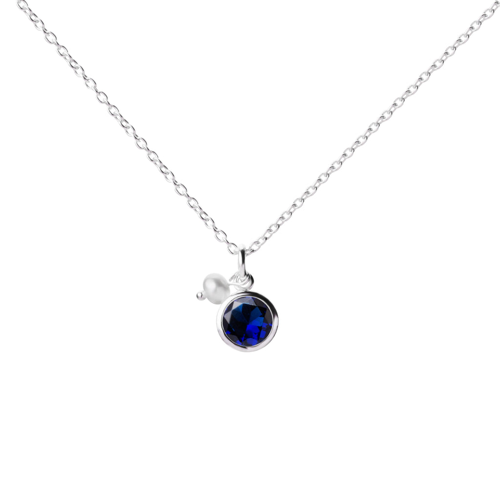 Birthstone | Necklace | September - Sapphire