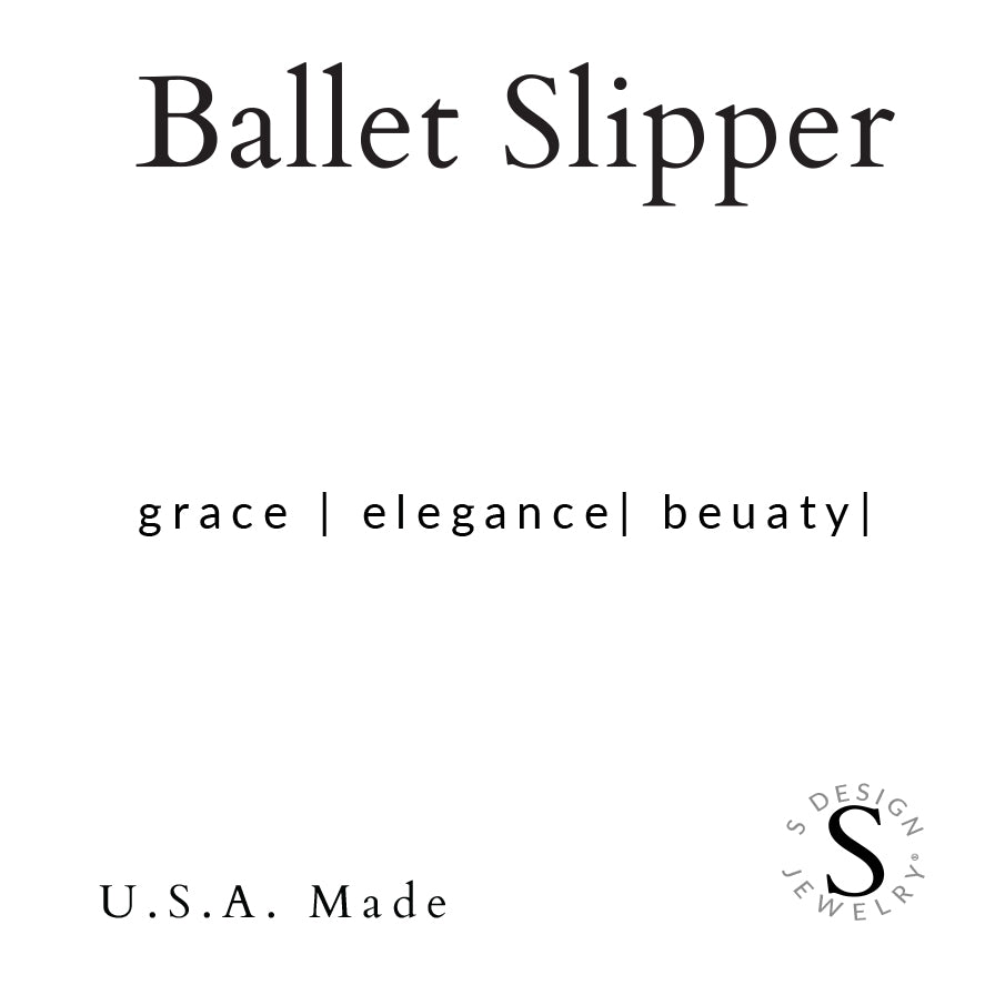 Ballet Slipper | Necklace | Childrens
