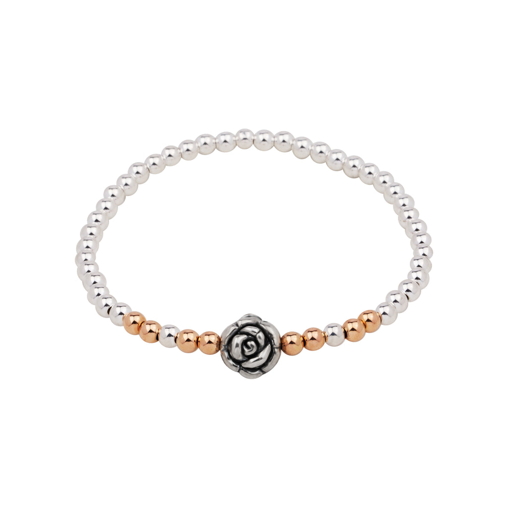 Ciao Bella Rose - Peitite | Bracelet | Sterling Silver , 14K Rose Gold