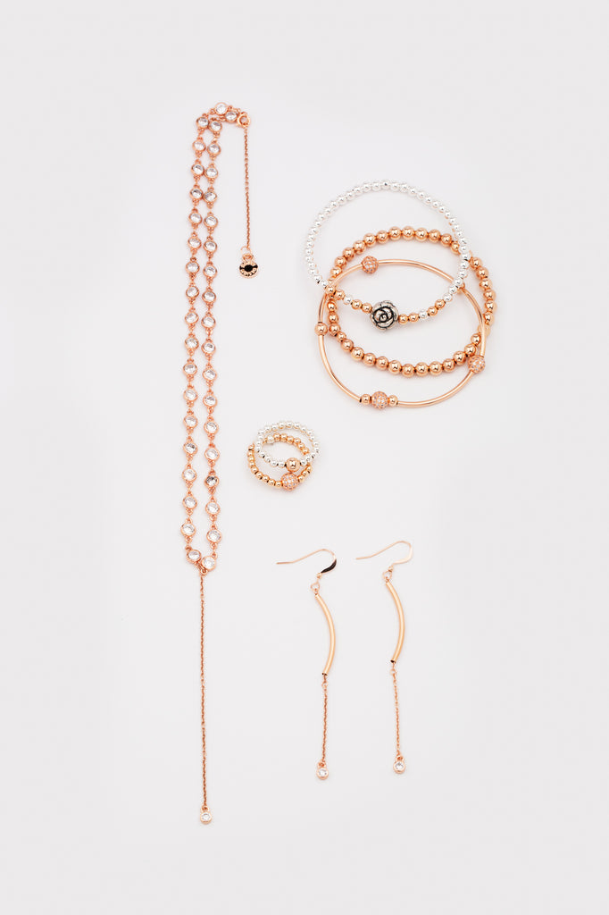 Bella Stacker | Bracelet | 14K Rose Gold