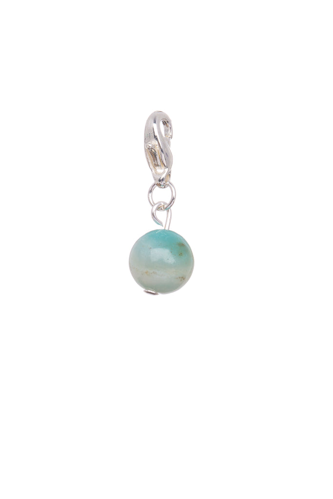 Amazonite Natural Stone - Charm - Courage