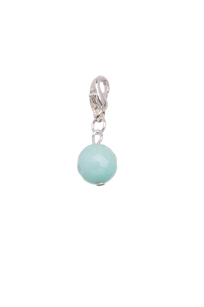 Tiffany Blue Natural Stone | Charm