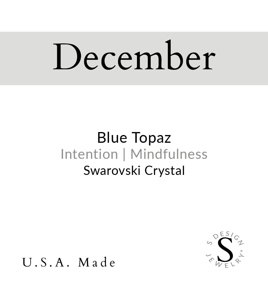 Birthstone | Bracelet | December - Blue Topaz