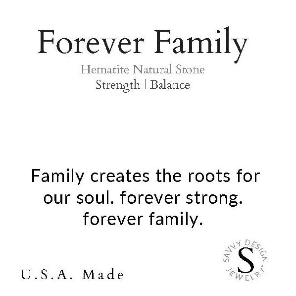 Intention Word Bracelet | Forever Family