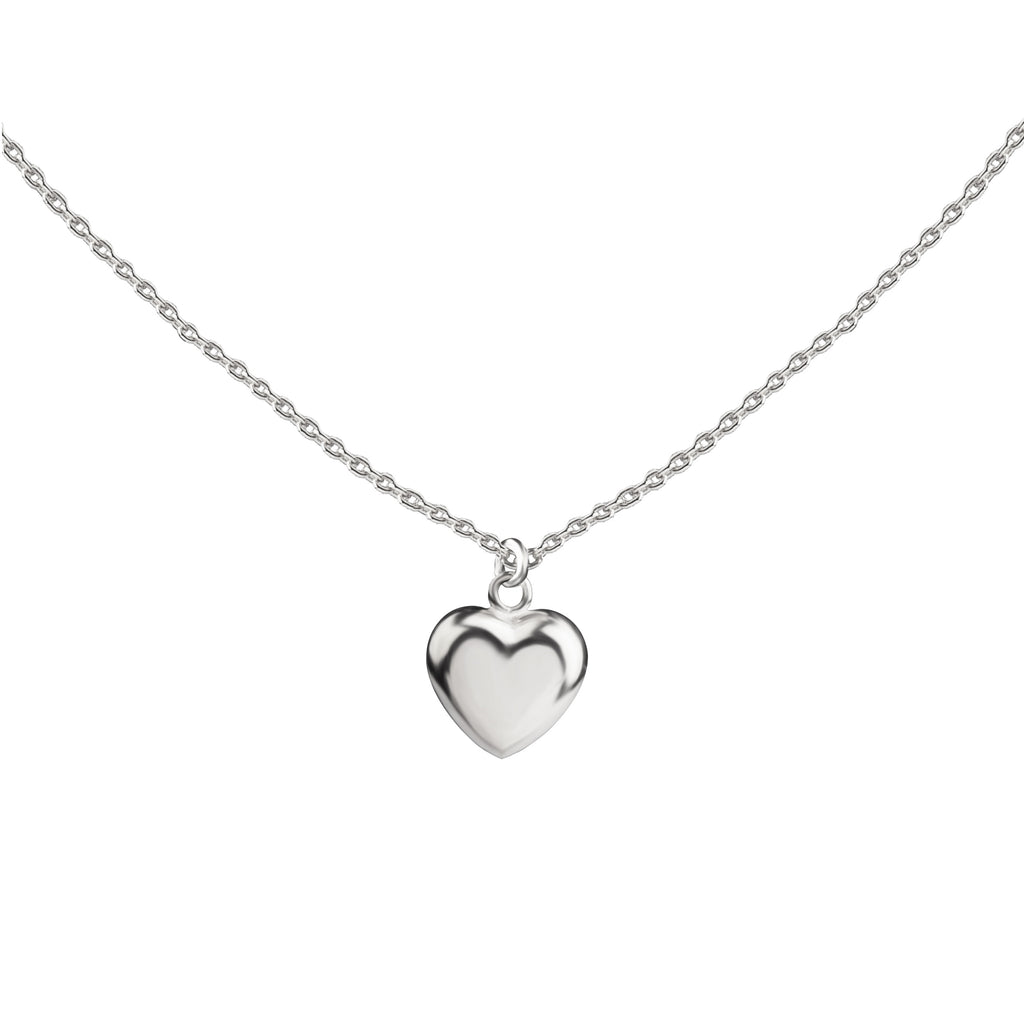 Spring Love Heart Necklace | Sterling Silver