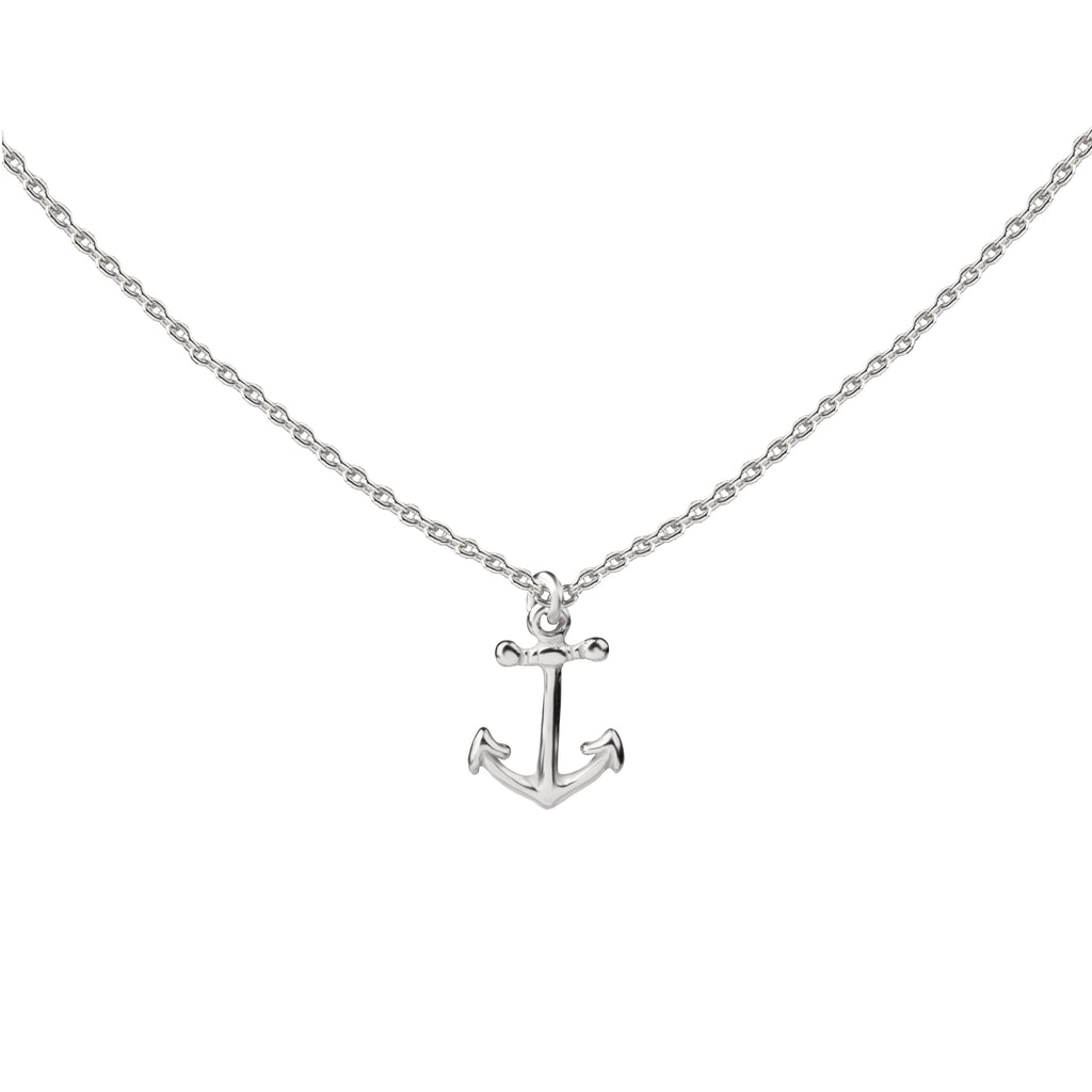 Anchor | Little Layer Necklace | Sterling Silver