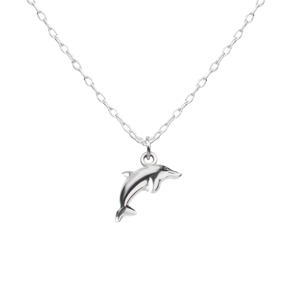 Dolphin | Little Layer Necklace | Sterling Silver