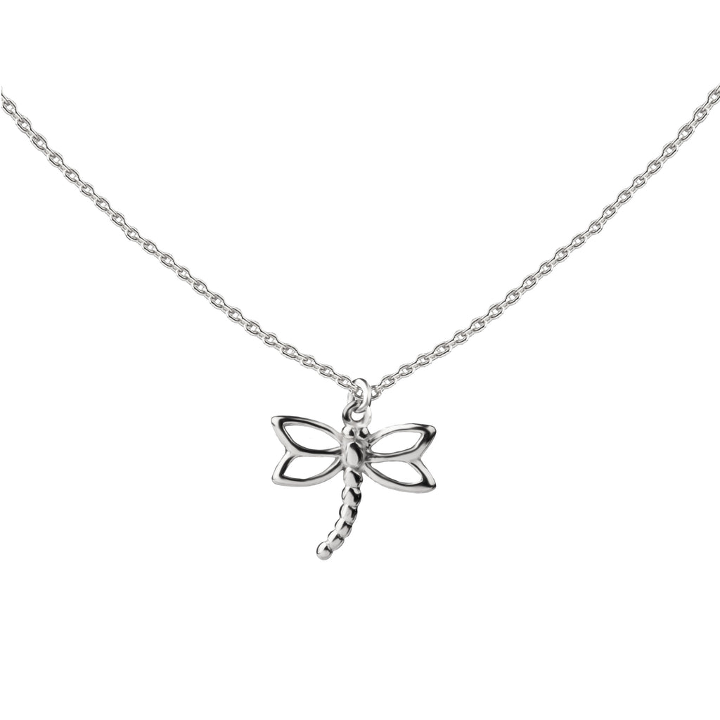 Dragonfly | Little Layer Necklace | Sterling Silver