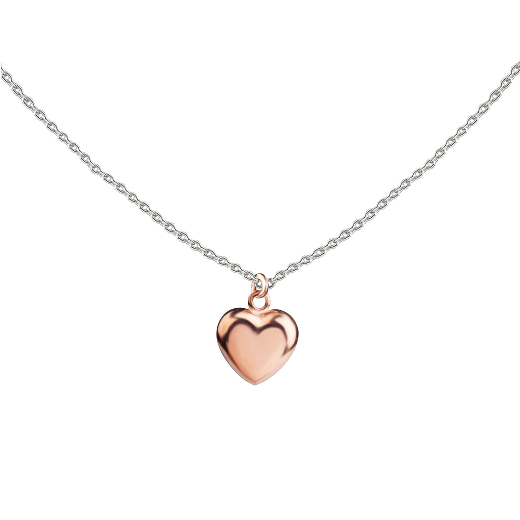 Heart | Little Layer Necklace | Rose Gold