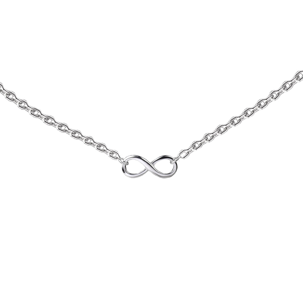 Infinity Connector | Little Layer Necklace | Sterling Silver