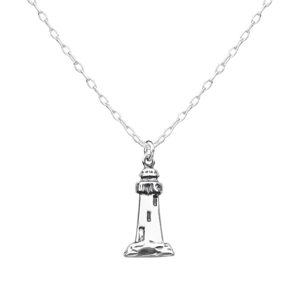 Lighthouse | Little Layer Necklace | Sterling Silver