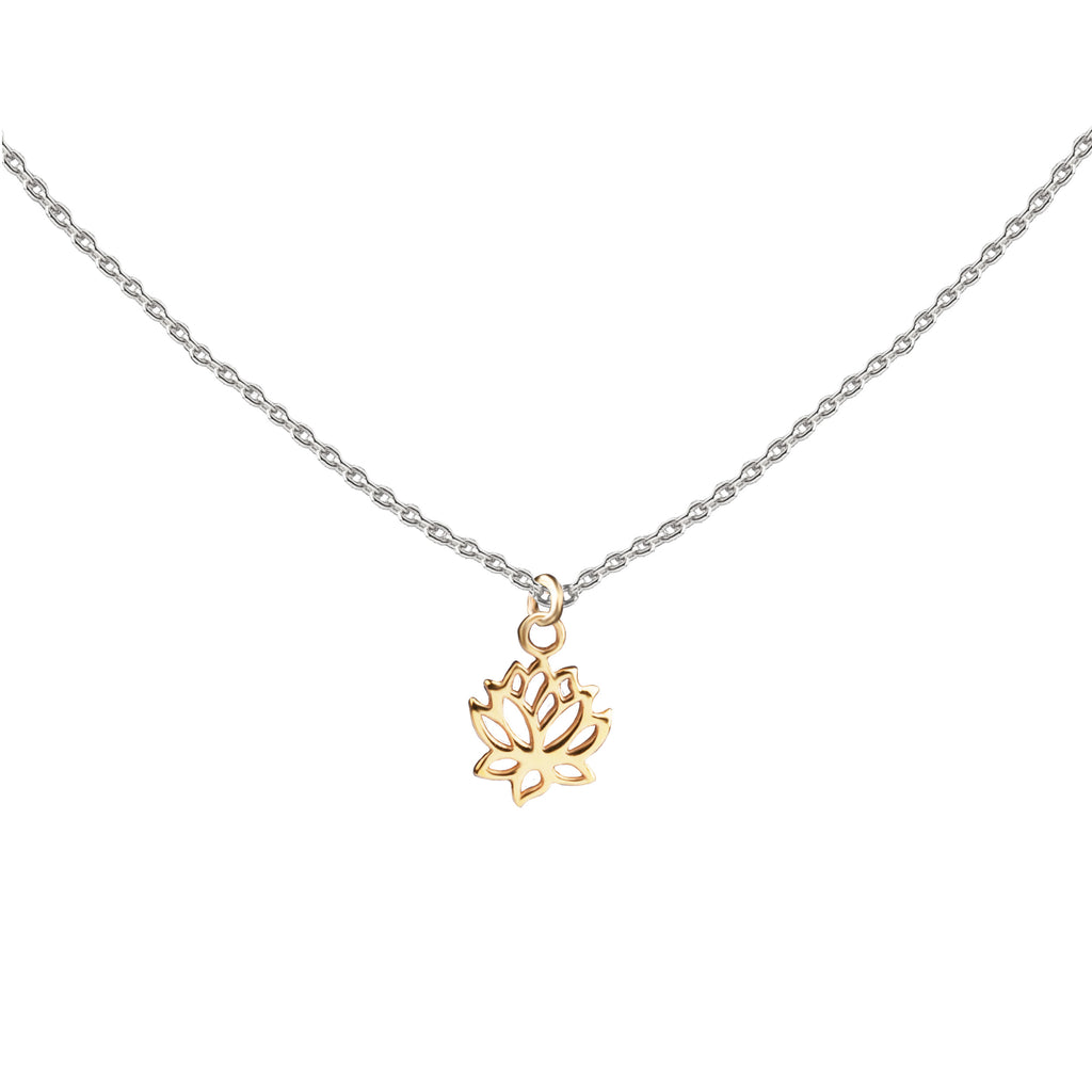 Lotus | Little Layer Necklace | Gold