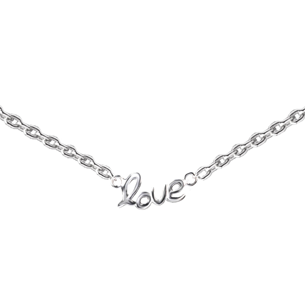 Love Connector | Little Layer Necklace | Sterling Silver