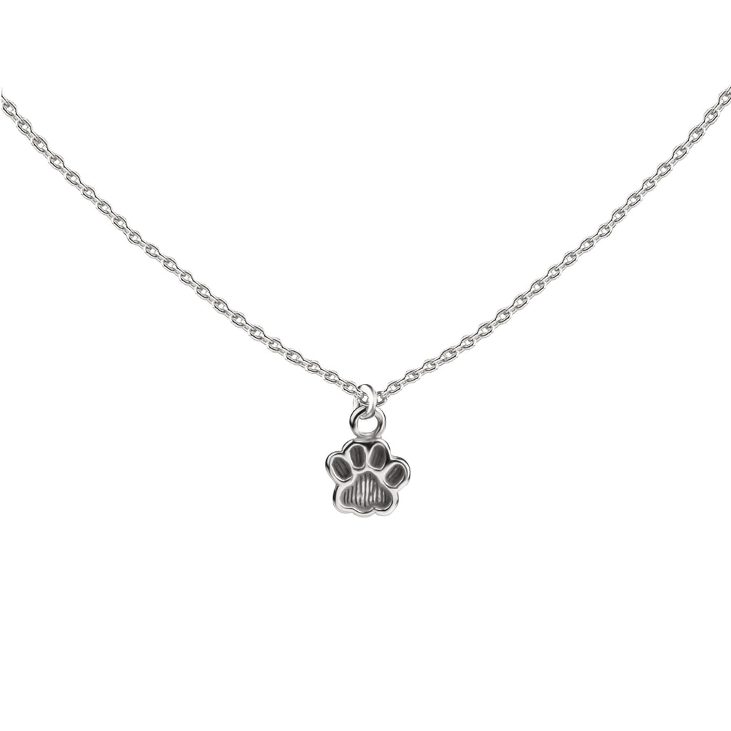Paw Print | Little Layer Necklace | Sterling Silver