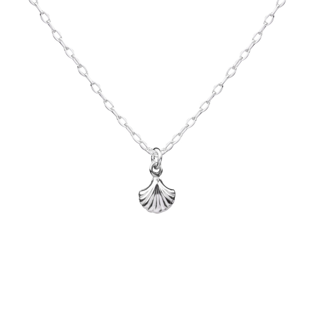 Shell | Little Layer Necklace | Sterling Silver