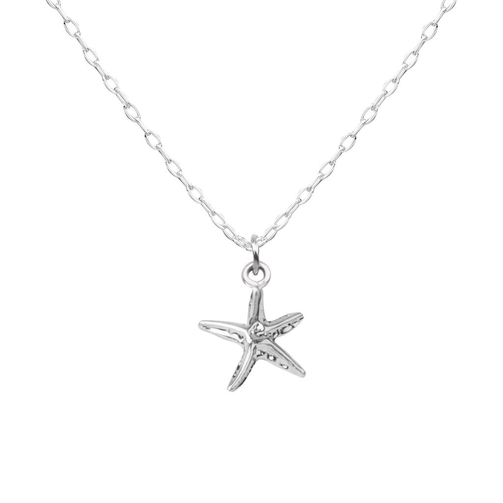 Starfish | Little Layer Necklace | Sterling Silver