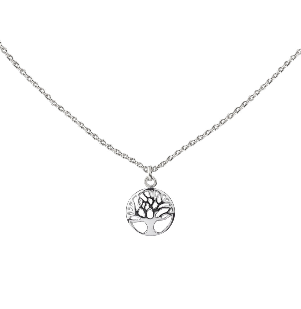 Tree of Life | Little Layer Necklace | Sterling Silver