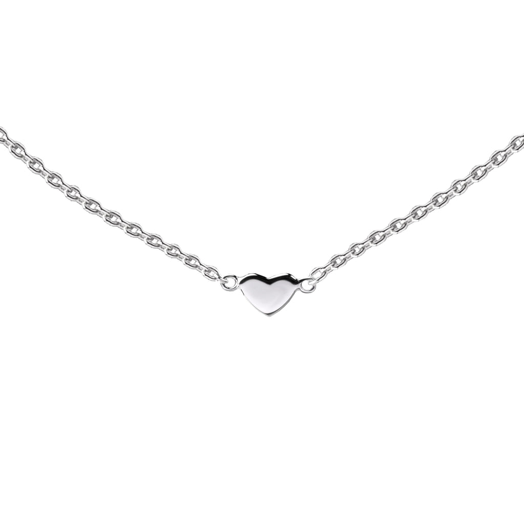Heart Connector | Little Layer Necklace | Sterling Silver
