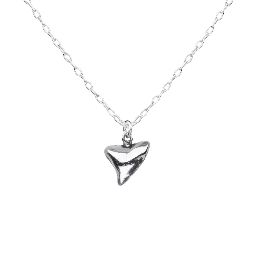 Shark Tooth | Little Layer Necklace | Sterling Silver