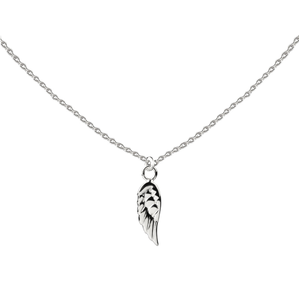 Angel Wing | Little Layer Necklace | Sterling Silver